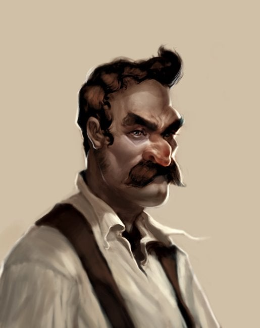 Portraits reimagine Super Mario Bros. as a crime drama