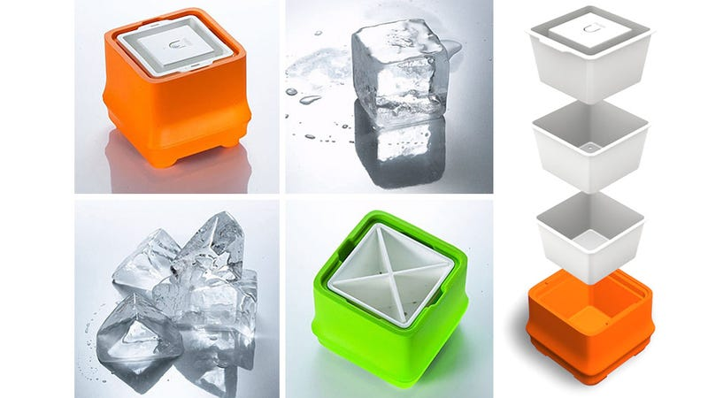 Over-Engineered Trays Create Crystal Clear Ice—One Cube At a Time