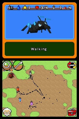 Ant Nation DS Preview: Baby's First Strategy Game