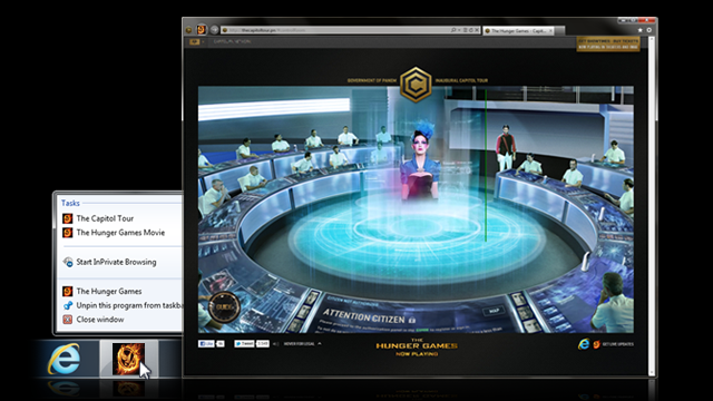 Experience The Hunger Games from the Comfort of Your Browser