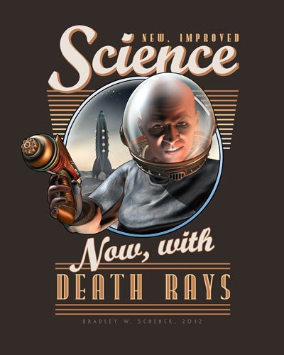 Celebrate Science with These Insane Retro Posters
