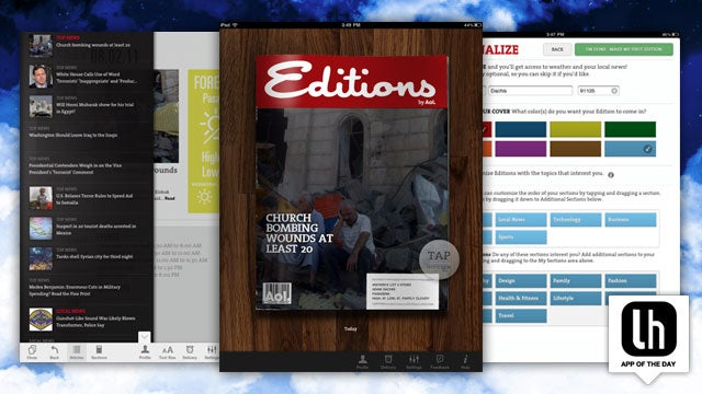 Editions Turns Global News, Local Events, and Your Life into a Beautiful Daily iPad Magazine