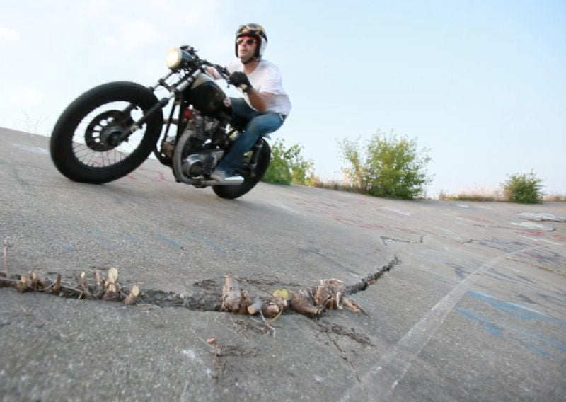 Racing Motorcycles On Detroit's Lost Velodrome