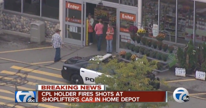Woman With Concealed-Carry License Shoots at Home Depot Shoplifters, May Not Face Charges
