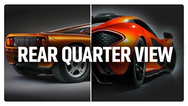 McLaren P1 Vs. McLaren F1: How Do They Match Up?