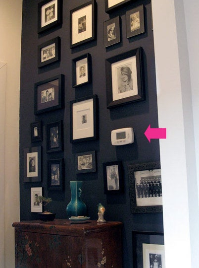 Hide Thermostats in Plain Sight with a Photo Wall