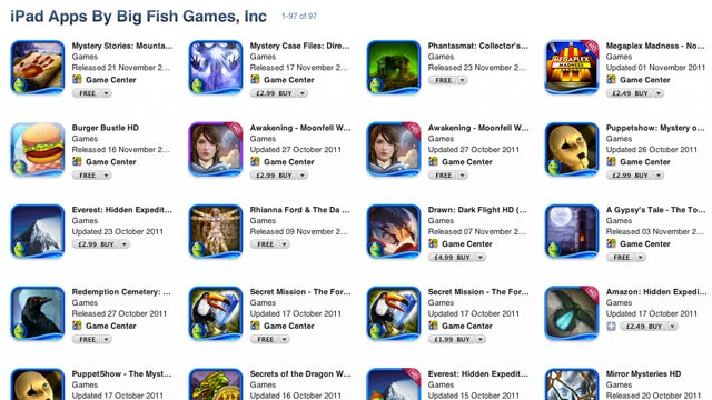 Apple Removes Big Fish iPad Game Subscription App Without Notice