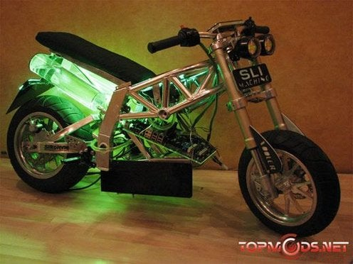 NVIDIA Motorcycle Casemod is the Fastest Computer On Two Wheels, Kinda