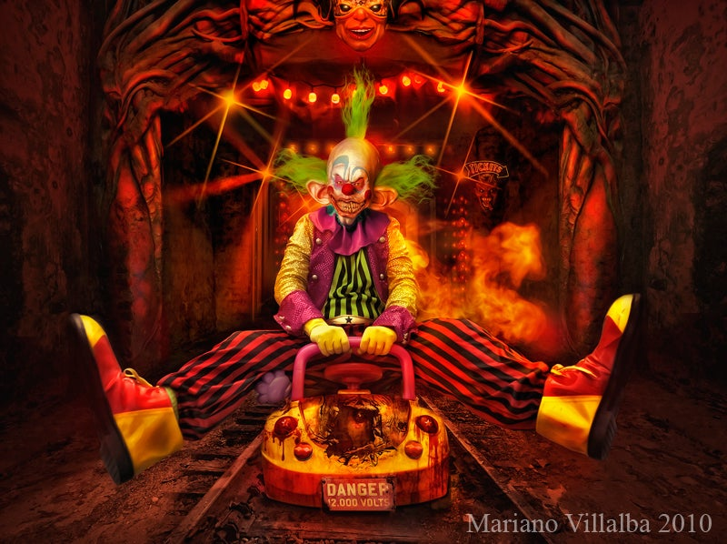 Angels, clowns and a deep dark place: the art of Mariano Villalba
