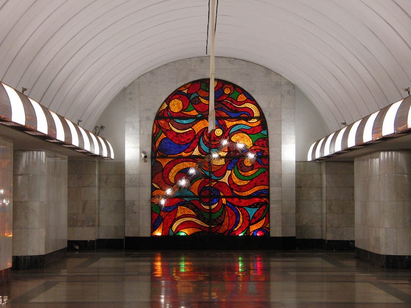 Moscow's Metro Isn't a Post Apocalyptic Wasteland. It's Actually Quite Lovely.