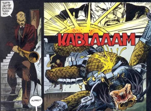 What if...Batman vs. Predator had been a summer flop in the 1990s?