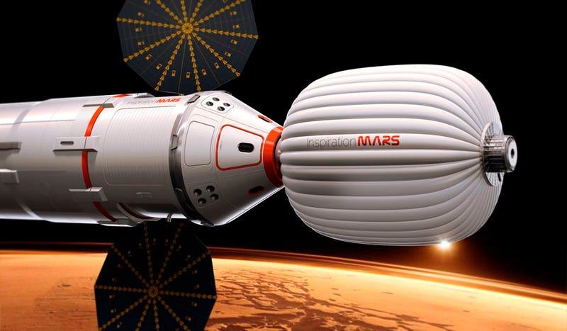 Tú puedes ser el inventor de la próxima nave tripulada a Marte