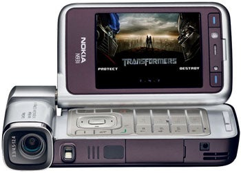 Unconfirmed: Nokia N93i Transformers Edition