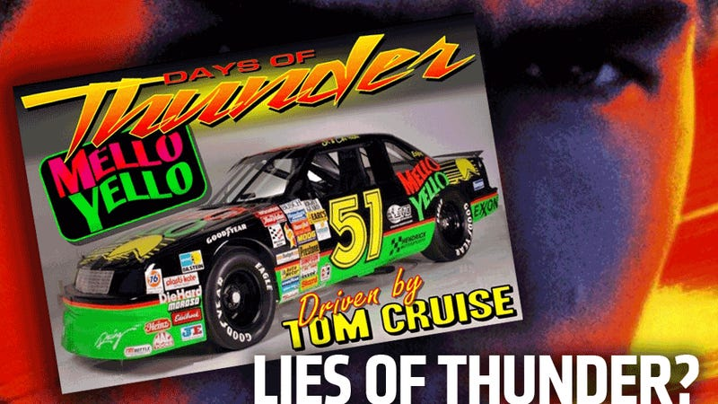 Is This Museum Selling A Fake Days Of Thunder Car Tom Cruise Never Drove?