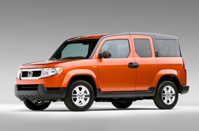 Honda Element 2009 Mexico 2009 Honda Element Revealed