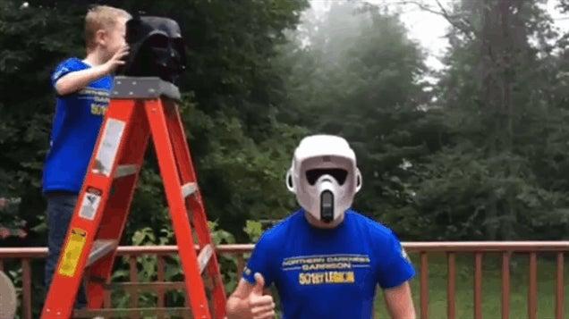 Star Wars vs The Ice Bucket Challenge