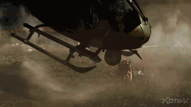 Oh My God It's A Dog Taking Down A Helicopter