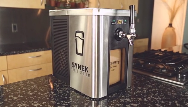 They Finally Made That Single Serve Beer Machine You've Always Wanted