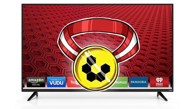 "Most Popular Budget HDTV: VIZIO E50-C1 50"" Smart LED HDTV"
