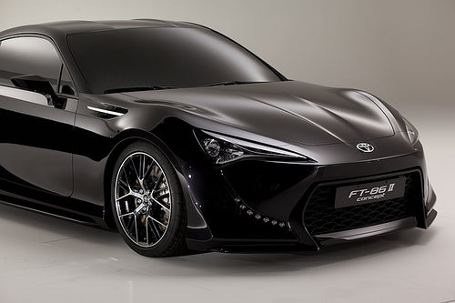 Toyota FT-86 II Concept continues turning balls blue