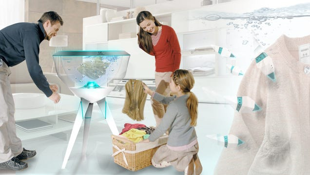 In the Future, Your Clothes Will Be Cleaned By Schools Of Robotic Fish