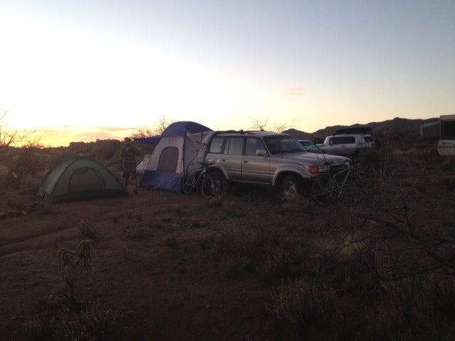 Camping in the Canyonero