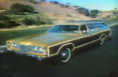 Mrs. Adams Abducts Ford Salesman In '74 Country Squire