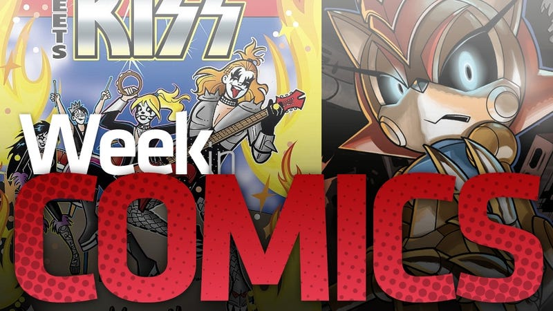 Archie Meets KISS and Titan Metal Sonic Goes on a Rampage in This Week's Most Interesting Comics