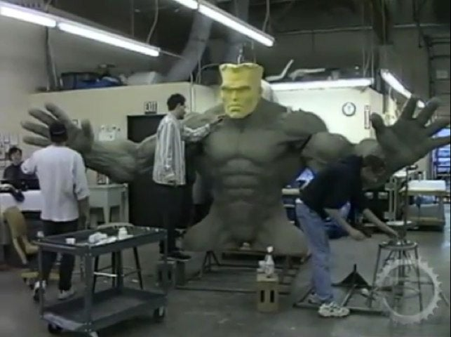 The Animatronic Hulk that could have saved Ang Lee's film