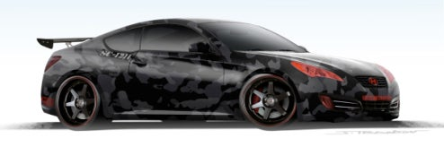 Street Concepts Hyundai Genesis Coupe Concept Coming To SEMA