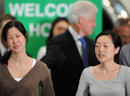 Formerly Imprisoned, Laura Ling and Euna Lee Now Free to Tell Their Tale (Mostly)