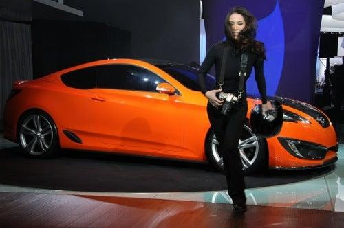 LA Auto Show: Hyundai RWD Coupe