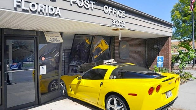 Postal Service Begs Floridians To 'Please Stop Crashing Into Post Offices'