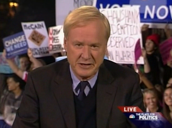 Pranksters Descend on Chris Matthews