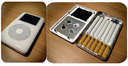 Turn an Old iPod Into a Cigarette Holder to Look Cool, Get Cancer