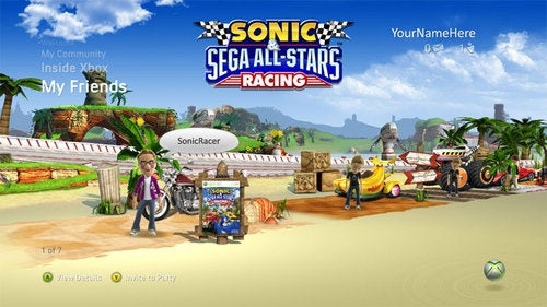 Test Drive Sonic & Sega All-Stars Racing