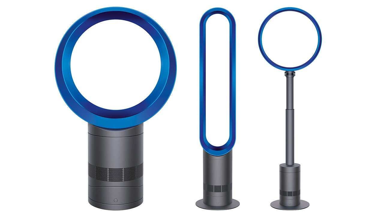 Dyson Bladeless Fan : Dyson s bladeless fans are now percent quieter