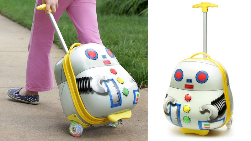Why Can't Luggage For Adults Be As Wonderful As This Robo-Bag?
