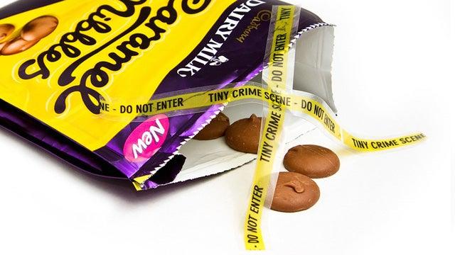 Tiny Crime Scene Tape Marks Minuscule Misdemeanors