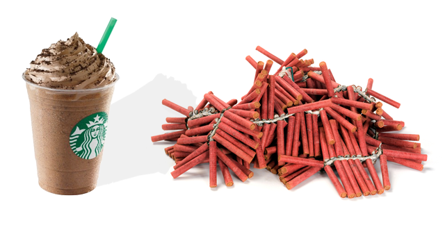 Idiot Throws Firecrackers into Starbucks, Streams It Online
