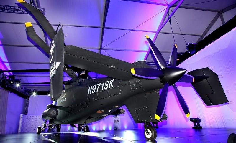 Este nuevo helicóptero de asalto es uno de los más rápidos del mundo