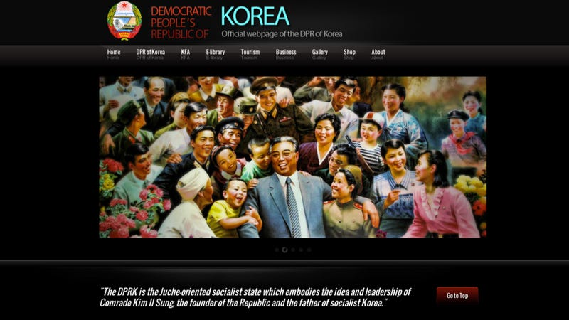 Let's Check Out North Korea's Brand New Website!