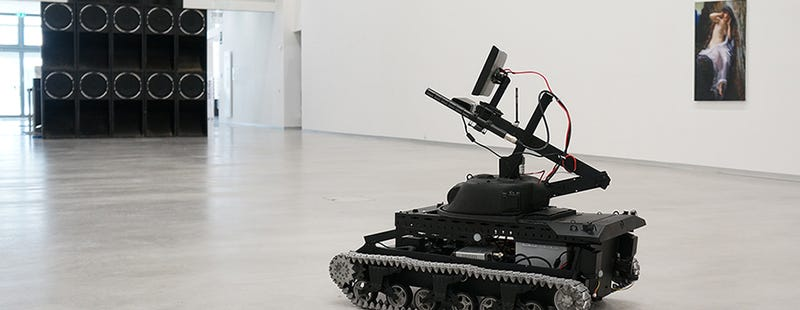 These Eavesdropping Drone Tanks Have Something to Tell You