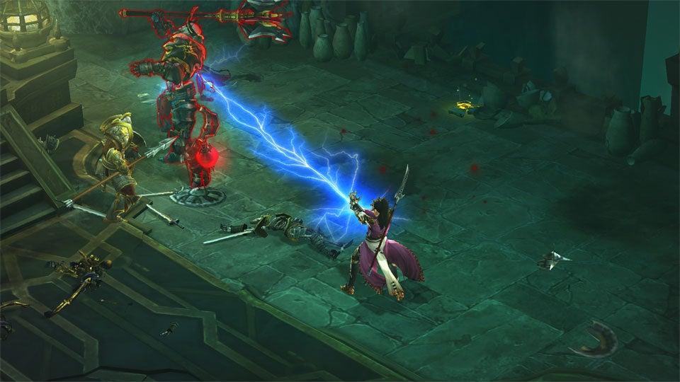 Diablo III: уровень сложности Inferno. . Бета-тест в сентябре.
