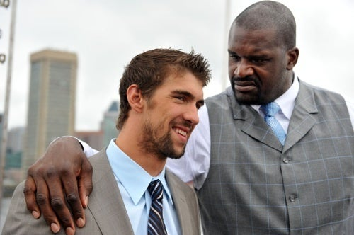 Shaq Is Not Impressed With Michael Phelps' Hairdo