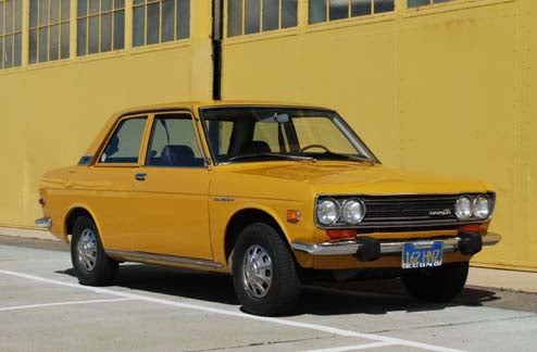 Miraculously Unhooned 1973 Datsun 510 Holds Still For Alameda Photo Session