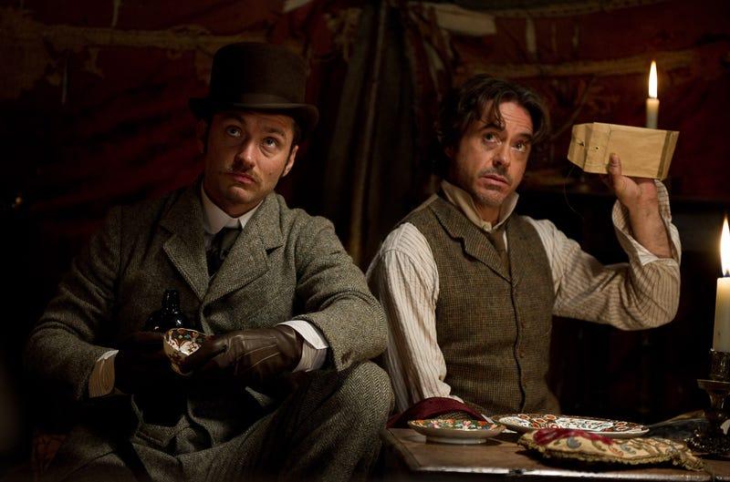 High-Res Sherlock Holmes 2 Photos