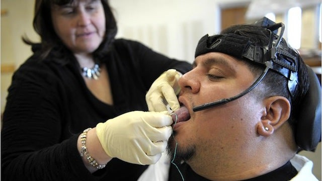 Tongue Piercings Can Steer Wheelchairs