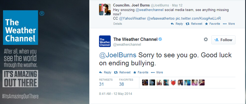 Weather Channel Starts Twitter Controversy with Failed Snark...Again