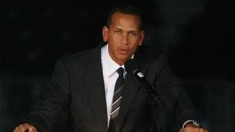 Alex Rodriguez Will Step To The Podium Now